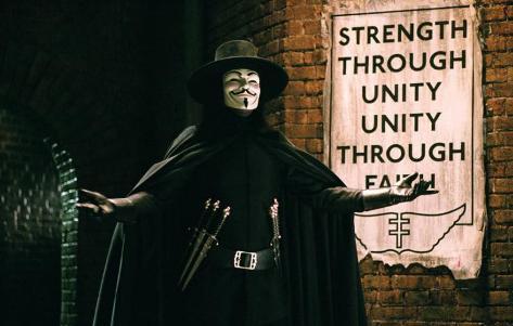 V för Vendetta Masterprint