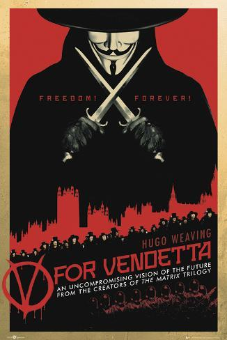 V for Vendetta-One Sheet Poster
