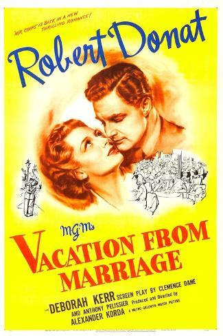 Vacation from Marriage Art Print