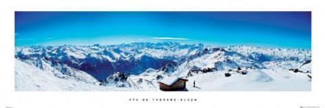 Val Thorens (Mountain Panorama) Poster