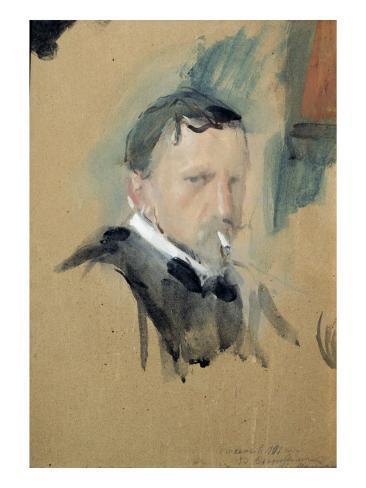 Self Portrait, 1901 Lámina giclée