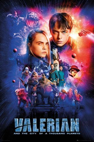 Valerian - One Sheet Cast Poster