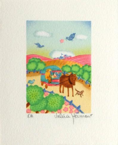 Le Carosse Collectable Print