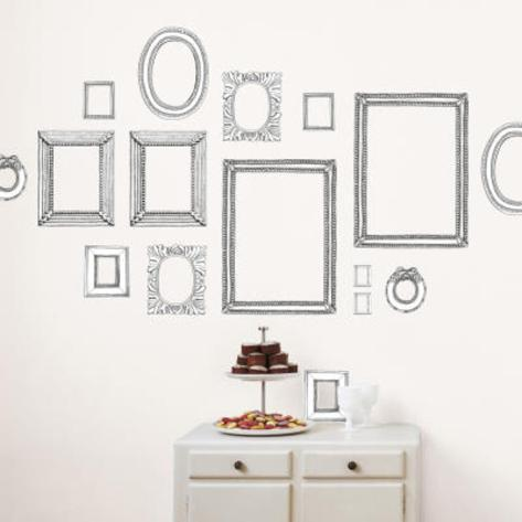 Valerie Michel Hand Made Frames Wall Stickers Wall Decal - at ...