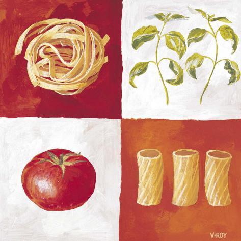 Italian Pasta Stampa artistica