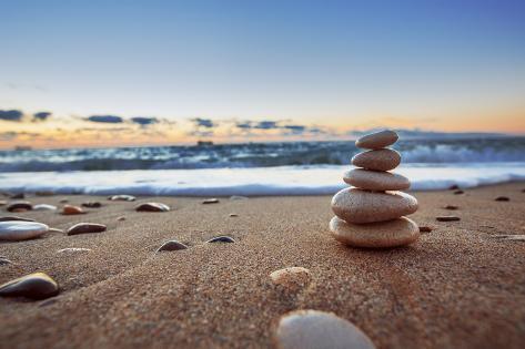 Stones Balance Photographic Print