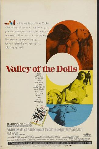 Valley of the Dolls, 1967, Directed by Mark Robson Giclee Print