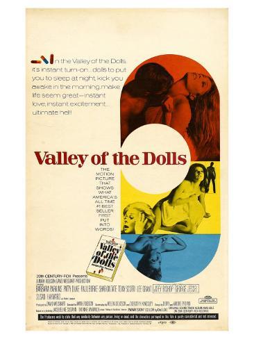 Valley of the Dolls, 1967 Art Print