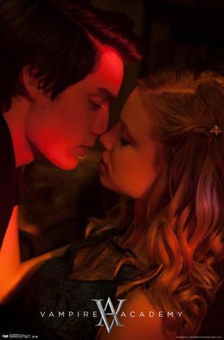 Vampire Academy Kiss Poster