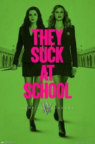 Vampire Academy Teaser Poster