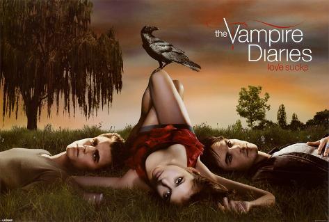 Vampire Diaries - Crow Poster