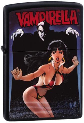 Vampirella - Black Matte Zippo Lighter Lighter