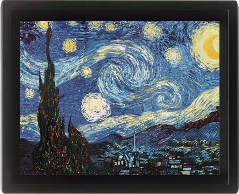 Van Gogh (Starry Night) 3 Dimensional Poster