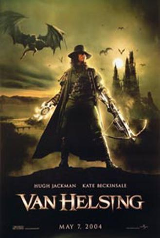 Van Helsing Double-sided poster