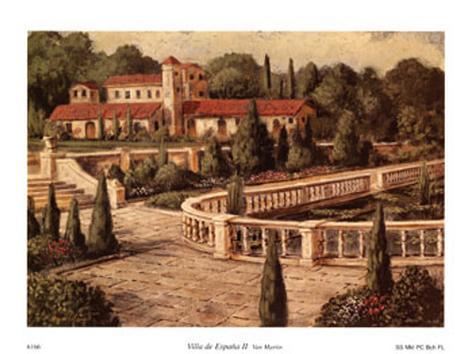 Villa De Espana II Art Print