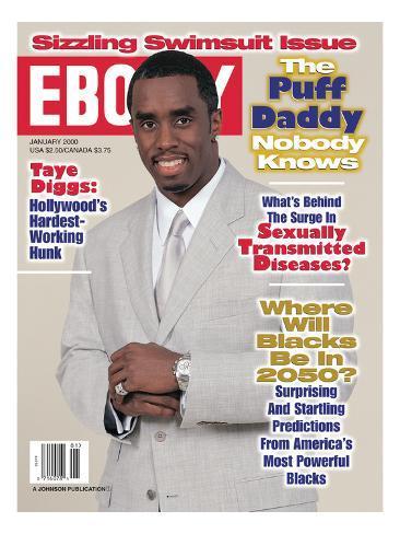 Ebony January 2000 Photographic Print