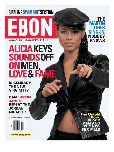 Ebony January 2004 Photographic Print