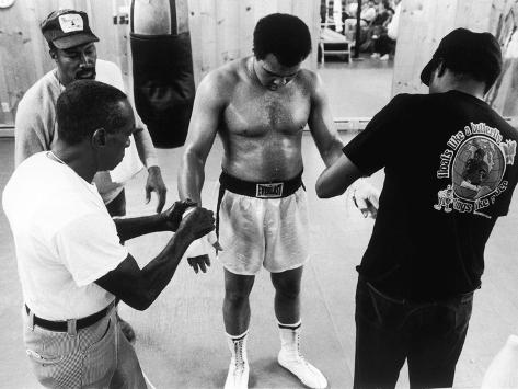 Muhammad Ali; Drew Bundini Brown - 1978 Photographic Print