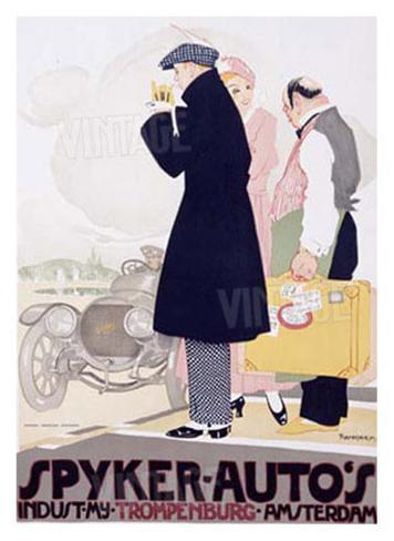 Spyker Autos Giclee Print