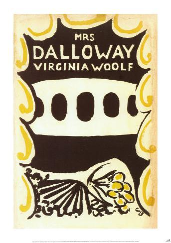 Mrs. Dalloway by Virginia Woolf Poster