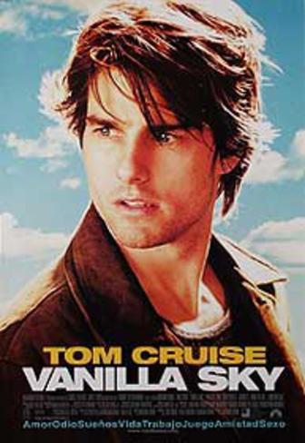 Vanilla Sky (Tom Cruise) Movie Poster Original Poster
