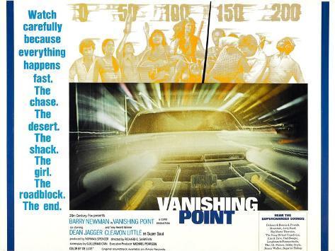 Vanishing Point, 1971, TM & Copyright © 20th Century Fox Film Corp./courtesy Everett Collection Art Print