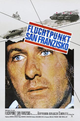 Vanishing Point (aka Fluchtpunkt San Franzisko) Art Print