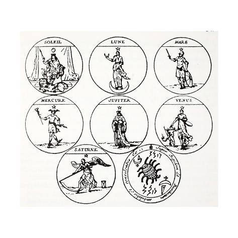 Various Types Of Talismans Giclee Print At Allposters Com