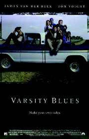 Varsity Blues Original Poster