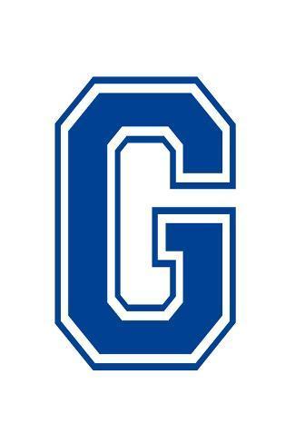 Varsity Letter G Make Your Own Banner Juliste