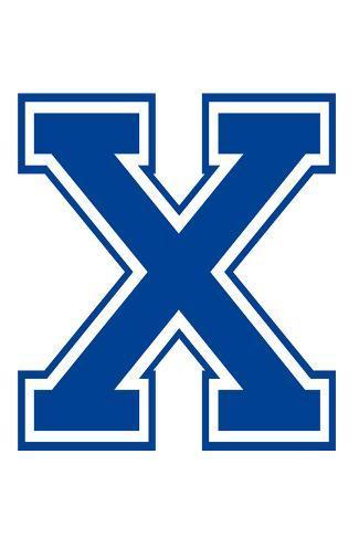 Varsity Letter X Make Your Own Banner Juliste