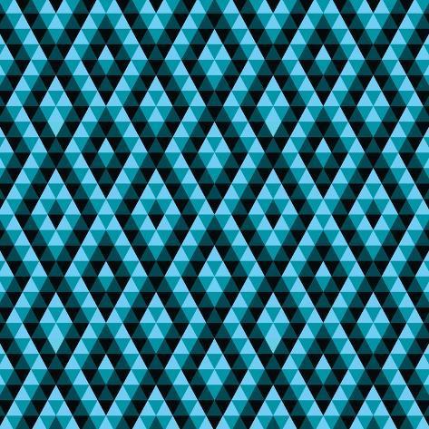 Geometric Ethnic Abstract Background Art Print