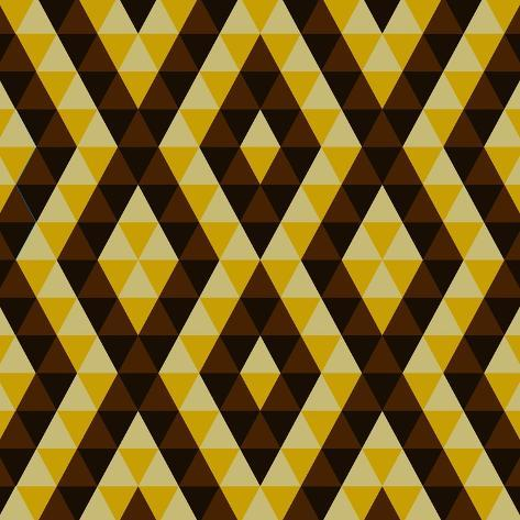 Geometric Ethnic Abstract Background Art Print