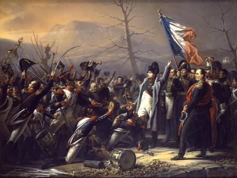 Napoleon Returning from Elba Giclee Print