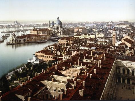 Veduta Dal Campanile, Venice Giclée-vedos