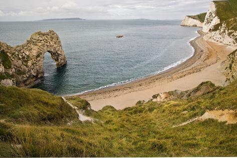 Unesco World Heritage Site Jurassic Coast Dorset England Uk Photographic Print