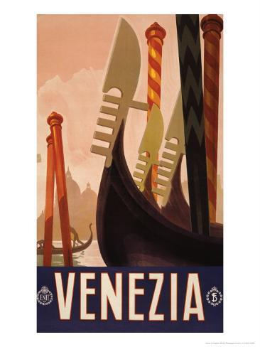 Venezia, c.1920 Art Print