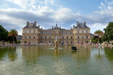 Paris - Luxembourg Palace Photographic Print