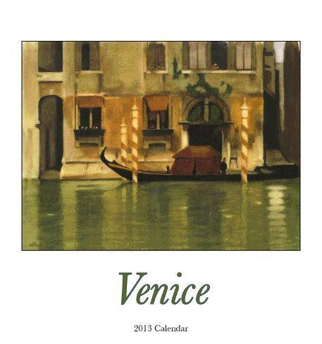 Venice  - 2013 Easel/Desk Calendar Calendars