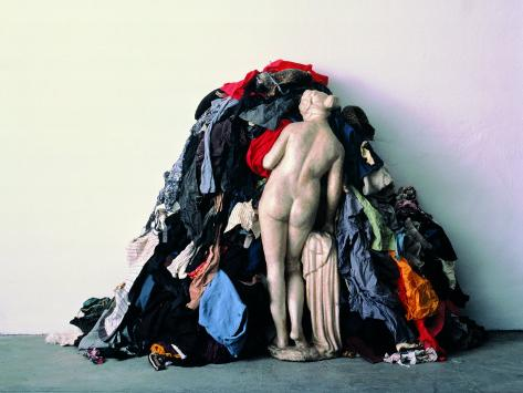 Venus of the Rags Stretched Canvas Print