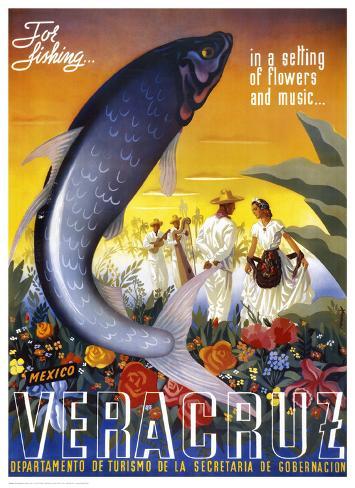 Veracruz, for Fishing Art Print