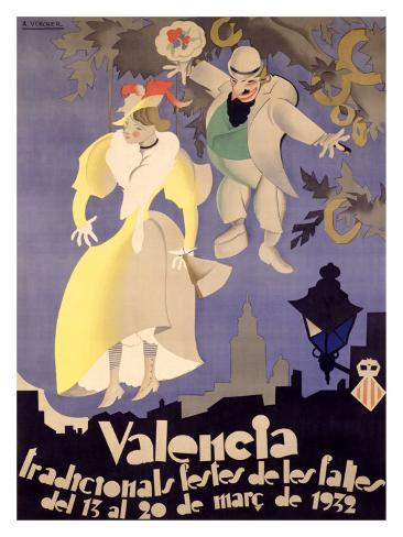 Valencia Giclee Print