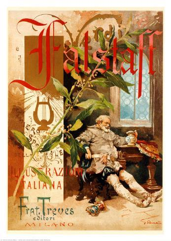 Verdi, Falstaff Art Print