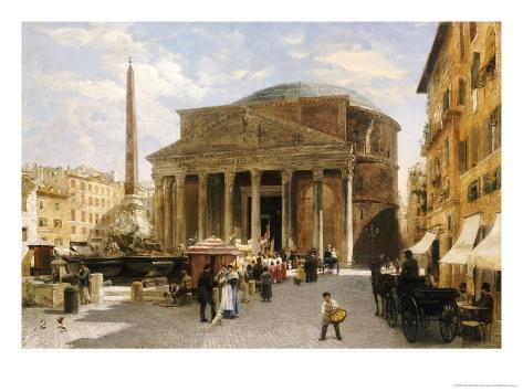 The Pantheon, Rome Giclee Print