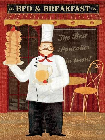 Chef's Specialties I Art Print