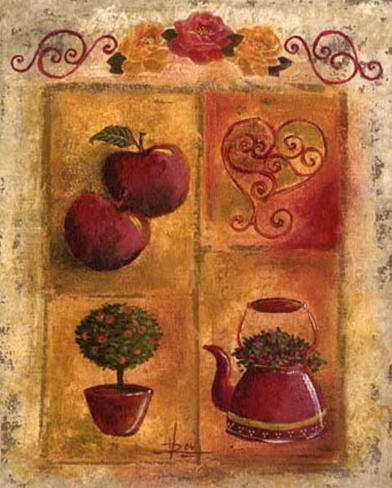 Les Pommes Art Print