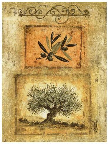 Olivier et Branche Art Print