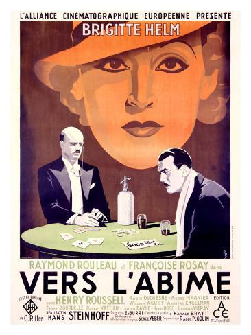 Vers l'Abime Giclee Print