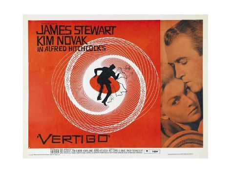 Vertigo [1958], Directed by Alfred Hitchcock. Premium Giclee Print