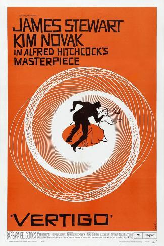 Vertigo, 1958, Directed by Alfred Hitchcock ジクレープリント